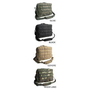 アメリカ軍 防水布使用A4対応MOLLショルダーバック BS076YN 【レプリカ】