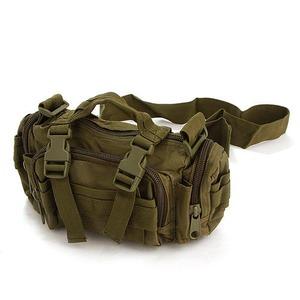 メリカ陸軍 3WAYウエストバッグ ナイロン(1000デニール) 防水生地使用 BS056YN オリーブ 【 レプリカ 】