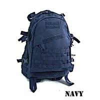 防水布使用米軍 A-3モール対応リュックレプリカ ネイビー