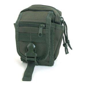 多機能 MOLLEバッグ 対応防水布使用ポーチ BP062YN オリーブ
