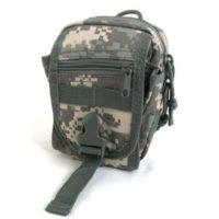 多機能 MOLLEバッグ 対応防水布使用ポーチ BP062YN ACU