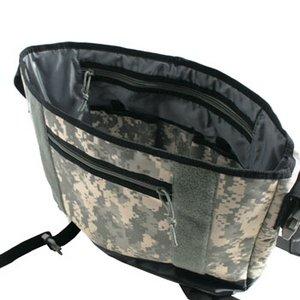 米軍防水布使用ポリエステルキャンパスメッセンジャーバック BS124YN ACU 【レプリカ】