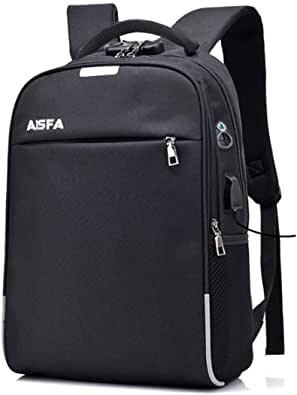 AISFA リュック PC ビジネスバックパック 防水加工