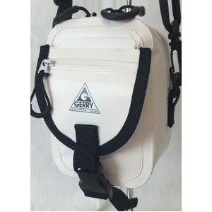 GERRY 超軽量防水スマフォ、デジカメ入れに便利ミニショルダー&ウェストポーチバック GE8002 ホワイト
